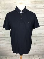 Men's Ted Baker Polo Shirt - Size 4 Large - Navy - Great Condition