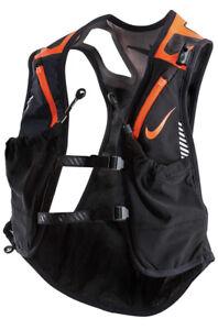 Nike Trail Kiger Vest Running Black/Orange Total Crimson Men's Women's Large L