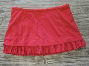 Lululemon City Sky Run By Skirt pink Pleated accent Sz 8 Skort Tennis Gym Golf
