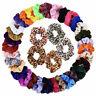 Pack of 10/20pcs Velvet Hair Scrunchies Elastic Scrunchy Ponytail Hair Tie Rope