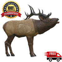 New Rinehart 1/3 Scale Woodland Elk 3D Hunting Target