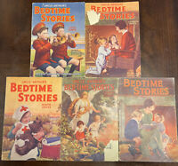 Lot 5 Uncle Arthur's Bedtime Stories Arthur Maxwell Hardcover series 1-4-9-10-11