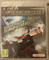 Ridge Racer Unbounded - Limited Edition (PS3) - Game  New & Sealed