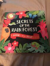Usborne Shine A Light Secrets Of The Rainforest