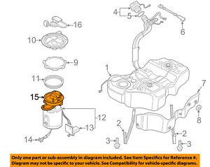 VW VOLKSWAGEN OEM 06-10 Passat-Fuel Filter 3C0919679A