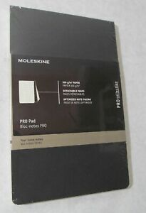 NEW MOLESKINE LARGE BLOCK NOTES PRO LOOSE NOTE TAKING PAD/ NOTEBOOK 100GM/2