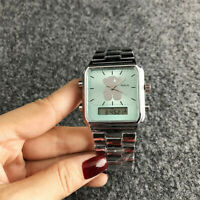 Luxury Bear Watch Stainless Steel Quartz Watch Woman And Man Gift