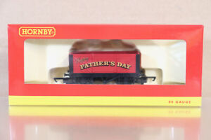 HORNBY R6778 HAPPY FATHERS DAY RED 7 PLANK OPEN WAGON MINT BOXED nz