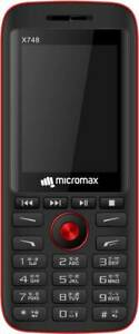 New Micromax X748, 2.4 inch Display, Dual Sim, 0.1MP Camera, SHIP DHL