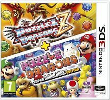 NEW & SEALED! Puzzle and Dragons Z Super Mario Bros Edition Nintendo 3DS Game