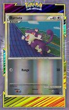 🌈Rattata Reverse - HS04:Indomptable - 64/90 - Carte Pokemon Neuve Française