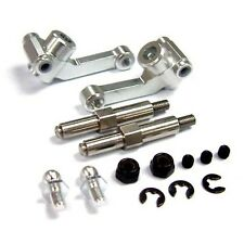 Yeah Racing Alloy Front Knuckle Arm With MM Screw (SV) For B4 1:10 #AB4-006V2SV