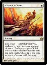 ALLIANCE OF ARMS Commander 2011 MTG White Sorcery RARE