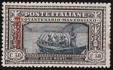 CIRENAICA 1924 - 30 cent. MANZONI PROVA VARIETA' n.P8 RARO! € 900