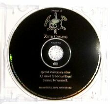 10 Years Of Zoth Ommog - Special Anniversary Mixes - 3 Track Promo CD - Leaether