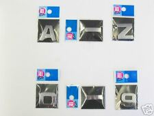 CHROME STYLE LETTERS & NUMBERS - 2 for £1