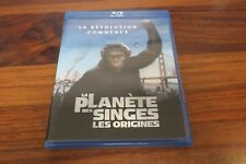 LA PLANETE DES SINGES  :  LES ORIGINES        -- BLU RAY + DVD