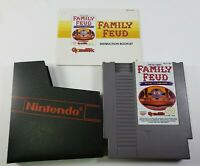 Family Feud (Nintendo NES, 1991) With Manual and Sleeve, TESTED