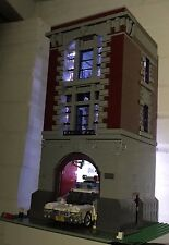 Kit de iluminación LED para las oficinas centrales de Lego Ghostbusters Firehouse 75827-Personalizado/Moc
