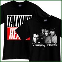 TALKING HEADS Rock Band Tribute Song CD Music Black T-Shirt TShirt Tee Sz S-3XL