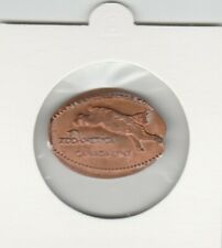 Pressed Pennies Elongated Penny - ZooAmerica - Lynx (a081)