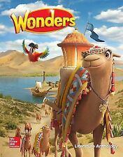 Wonders Reading Grade 3 Literature Anthology Hardcover New