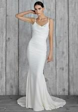 NICOLE MILLER BRIDAL HAMPTON WEDDING DRESS GH10006 $1400 SZ 8
