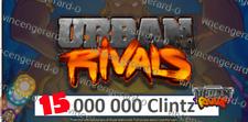 Urban Rivals cards/ unit: 15 Million Clintz/ Quick response