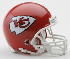 Kansas City Chiefs NFL Licensed Riddell VSR4 Z2B Riddell Mini Football Helmet