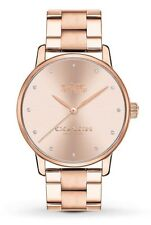 Coach Grand Rose Gold-tone Stainless Steel Women's Watch 14502929 $195