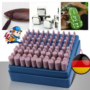 100 tlg/Set Schleifstifte Polierstifte Schleifstein Schleifkörper für Dremel