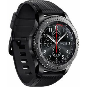 Samsung SM-R760 Gear S3 frontier GPS Smartwatch - Good