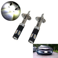2x 6000k CREE H1 Car LED Headlight Kit Auto Bulbs Fog Light Lamp Xenon White 12V
