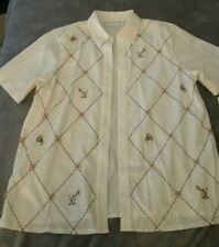 *NWT* Alfred Dunner Monkey Shirt Size: 12 *MSRP $42.00*