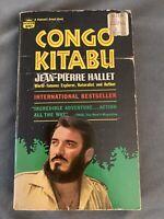 Congo Kitabu 1967 PB Hallet Africa Pygmies. First Fawcett Press Printing