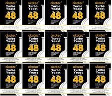 15 x ALCOTEC TURBOHEFE 48H CLASSIC  TURBO YEAST HEFE KOSTENLOSER VERSAND DHL