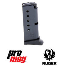 ProMag 6-Round Blue Steel Clip Magazine RUG13 for Ruger LCP / LCP II .380 ACP