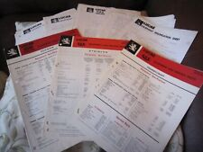 3 Lucas Catalogue Equipment and Service Parts Seddon etc and other data sheets