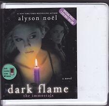 Dark Flame : The Immortals Book 4 by Alyson Noël (2010, CD, Unabridged)