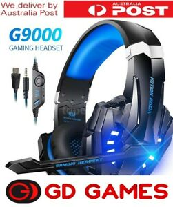 Playstation 4 PS4 XBOX One Switch PC Gaming Headset Brand New 1 Year Warrranty