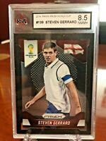 2014 World Cup Prizm Steven Gerrard Base #139 KSA 8.5 NMM+ England