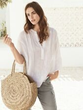 The White Company Linen Gauze Top UK10 RRP £89