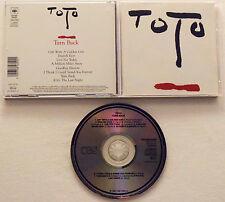 Toto - Turn Back (1981, CBS, Original)