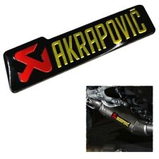 Motorcycle Refit Stiker Genuine AKRAPOVIC 140x39 Heat Resistant Exhaust Decal