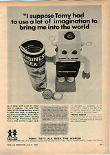 1967 ADVERT Tomy Toys Toy Mike Robot Tru Scale Farm Tractor #890