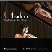 C Schumann:Obsidian [Mika Sasaki] [Yarlung Records: YAR52635], Mika Sasaki CD |