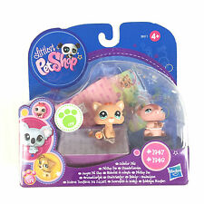Authentic Littlest Petshop 1947 + 1948 Baby Cat / LPS Pet Shop Brand New Box