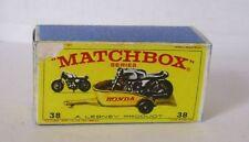 Repro Box Matchbox 1:75 Nr.38 Honda Trailer älter