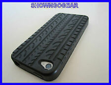 TOP GEAR F1 BLACK TYRE BURNOUTS IPHONE 4 4S 4G Silicone Rubber Cover Case DRAG