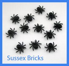 Lego Animal - 12x Black Spider - Castle Harry Potter City Star Wars -New Pieces